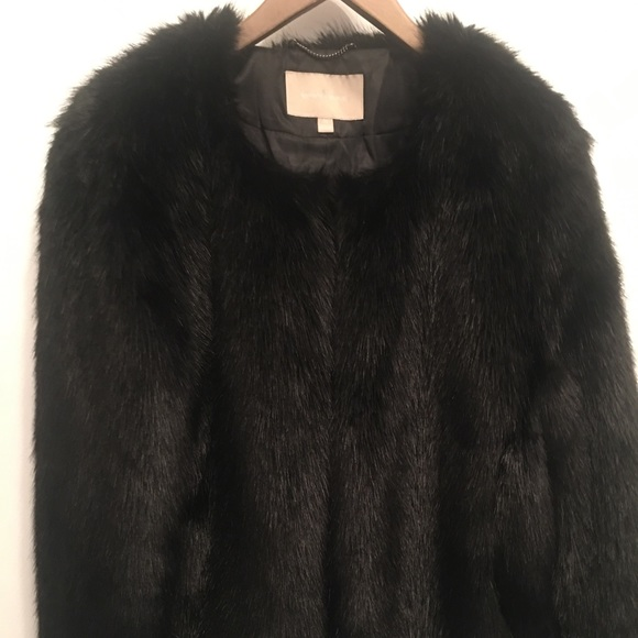 Banana Republic Faux Fur Jacket